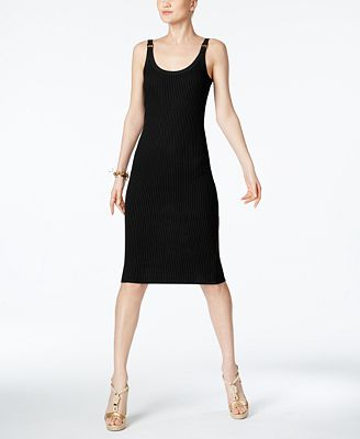 MICHAEL Michael Kors Petite Ribbed Sheath Dress