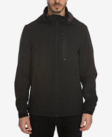 Perry Ellis Men's Stretch Wind and Rain Slicker