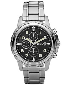 Men's Chronograph Dean Stainless Steel Bracelet Watch 45mm