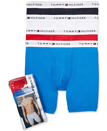 4-Pack Tommy Hilfiger Men's Cotton Boxer Briefs