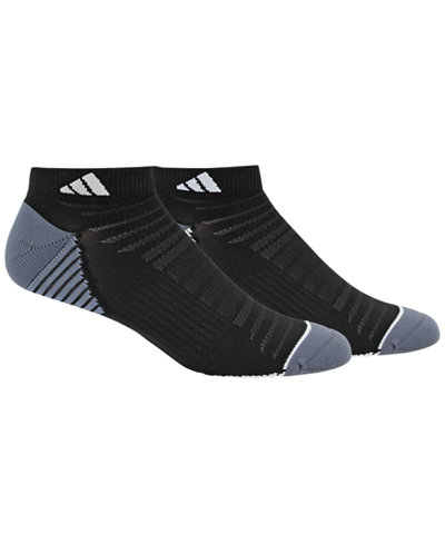 adidas Men's 2 Pack Speed Mesh ClimaLite Low-Cut Socks