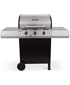 OVERSIZE Thermos 3-Burner Cart Grill