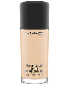 MAC Studio Fix Fluid Foundation SPF 15, 1.0 oz
