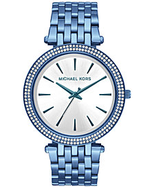 Michael Kors Women's Darci Ocean Blue Stainless Steel Bracelet Watch 39mm MK3675