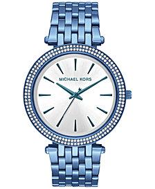 Michael Kors Women's Darci Ocean Blue Stainless Steel Bracelet Watch 39mm MK3675