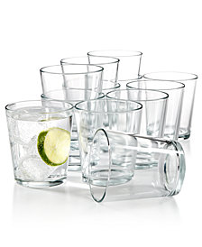 Martha Stewart Essentials 12-Pc. Small Tumblers Set, Created for Macy's