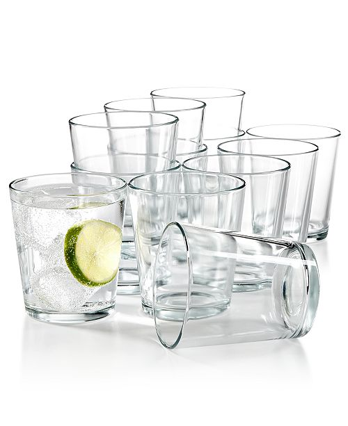 Martha Stewart Collection 12-Pc. Small Tumblers Set, Created for Macy's