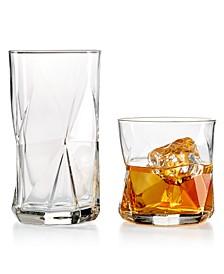 Cassiopea Glassware Collection