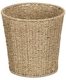 Household Essentials Seagrass Wicker Waste Basket
