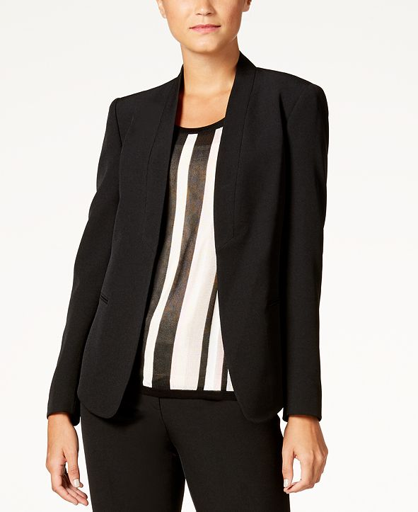 Anne Klein Shawl-Collar Jacket