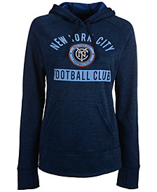 adidas Women's New York City FC Bottom Pill Hoodie
