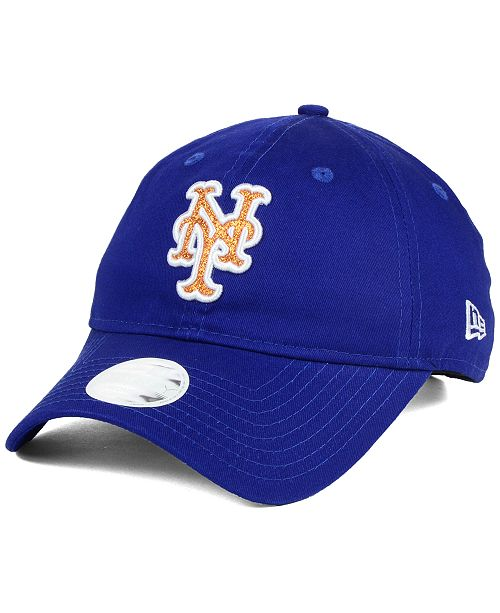 New Era Women s New York Mets Team Glisten 9TWENTY Cap - Sports Fan ... 4143af72fb