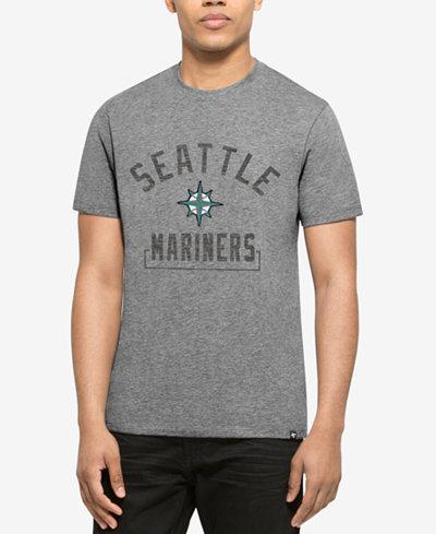 '47 Brand Men's Seattle Mariners Mixed Fieldhouse T-Shirt