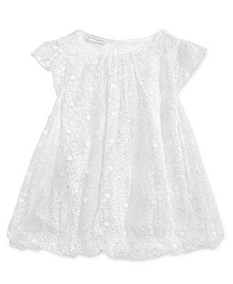First Impressions Schiffli Bubble Dress, Baby Girls (0-24 months ...