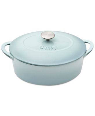 Heritage Pavilion Cast Iron 4.5 Qt. Oval Covered Casserole