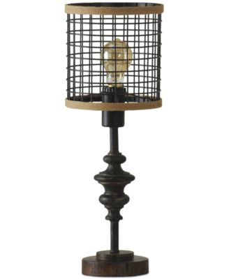 StyleCraft Cage Metal Table Lamp - Lighting & Lamps - For The Home ...