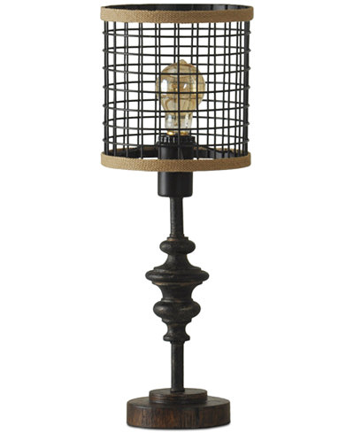 Stylecraft cage metal table lamp lighting lamps home macys stylecraft cage metal table lamp keyboard keysfo Choice Image