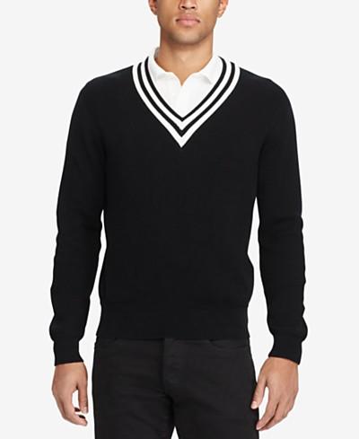 Polo Ralph Lauren Men's Rib-Knit Sweater