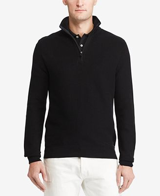 Polo Ralph Lauren Men's Half-Zip Pullover - Sweaters - Men - Macy's