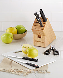 Wüsthof 7-Piece Starter Knife Block Set