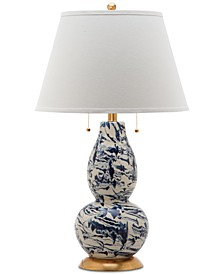 Color Swirls Table Lamp