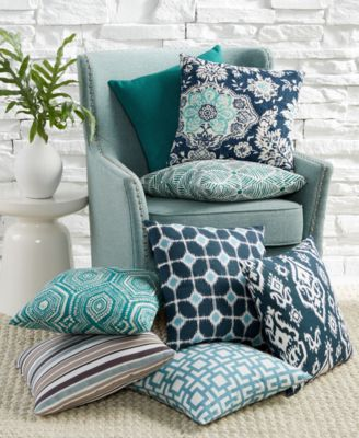 hallmart blue decorative pillow collection