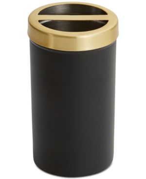 Paradigm Tuxedo Black Toothbrush Holder Bedding 4579541