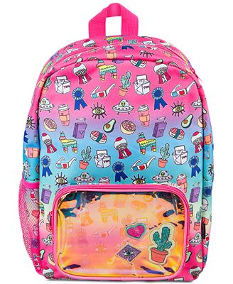 Fashion Angels Gradient Doodle Backpack, Little Girls (2-6X) & Big Girls (7-16)