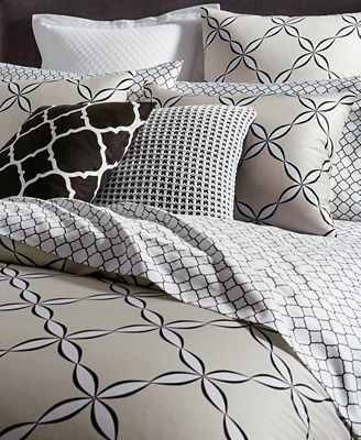 Outlined Geo Comforter Sets Created For Macy S