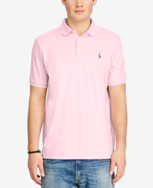Polo Ralph Lauren Cottons MEN'S CLASSIC FIT SOFT TOUCH COTTON POLO