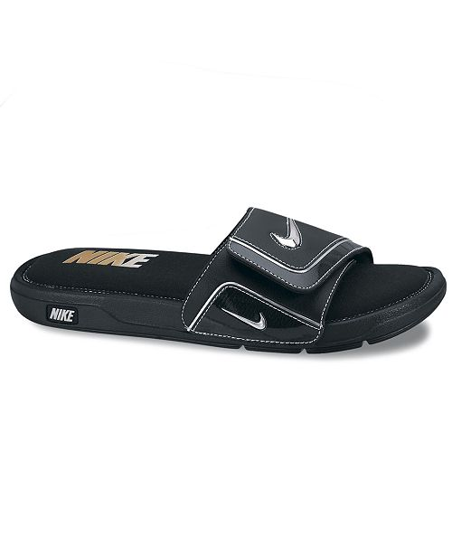 official photos fb5d3 96c45 Nike Men s Comfort Slides from Finish Line