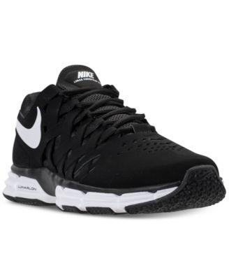 Nike Men\u0027s Lunar Fingertrap TR Wide 4E Training Sneakers from Finish Line