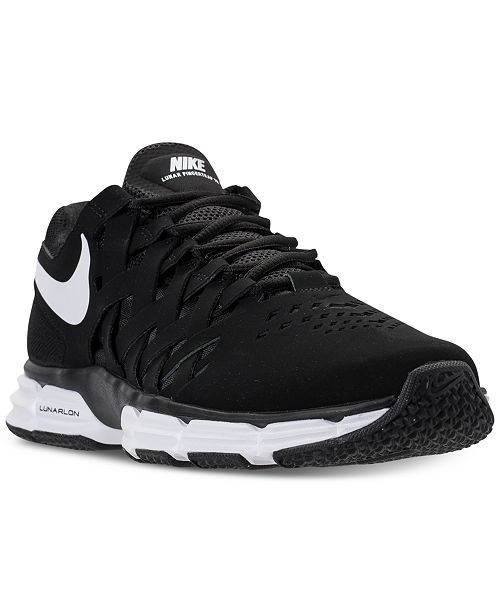 35048ad04803 ... Nike Men s Lunar Fingertrap TR Wide 4E Training Sneakers from Finish ...
