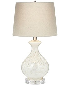 Pacific Coast Round Sugar Glass Vase Table Lamp