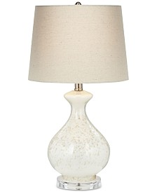 Pacific Coast Round Sugar Glass Vase Table Lamp