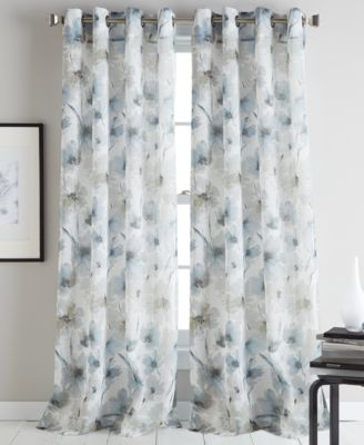 Modern Bloom 50 X 63 Curtain Panel
