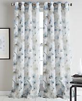 DKNY Modern Bloom Curtain Panels