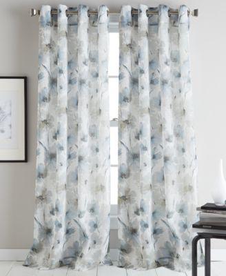 ... DKNY Modern Bloom Curtain Panels ...