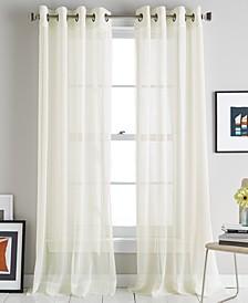 Soho Stripe Grommet Curtain Panels