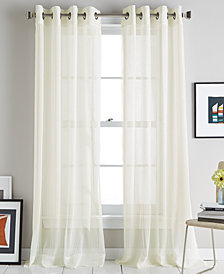 DKNY Soho Stripe Grommet Curtain Panels