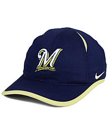 Nike Milwaukee Brewers Dri-FIT Featherlight Adjustable Cap