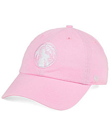 '47 Brand Women's Minnesota Timberwolves Petal Pink CLEAN UP Cap