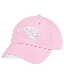 '47 Brand Women's Orlando Magic Petal Pink CLEAN UP Cap