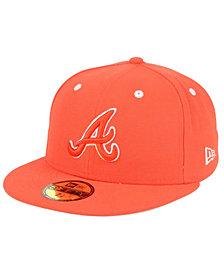 New Era Atlanta Braves Pantone Collection 59FIFTY Cap