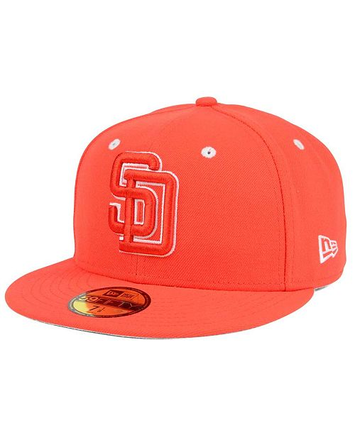the best attitude baec0 0b8e4 New Era. San Diego Padres Pantone Collection 59FIFTY Cap. Be the first to  Write a Review. main image ...