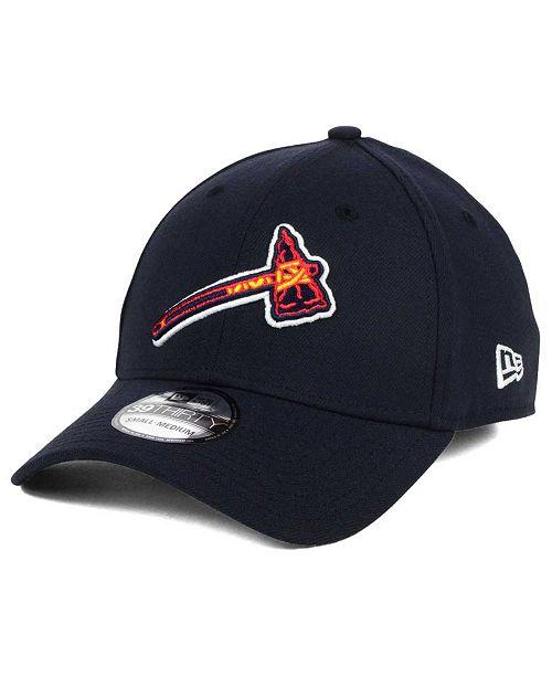 ac365ca9adafba New Era Atlanta Braves Core Classic 39THIRTY Cap & Reviews - Sports ...
