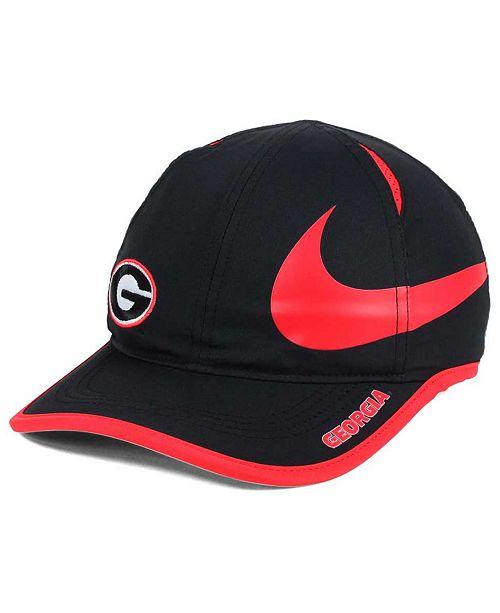 db651fb4d0f Nike Georgia Bulldogs Big Swoosh Adjustable Cap   Reviews ...