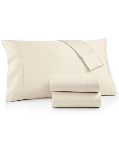 Brookstone King 4-pc Sheet Set, 500 Thread Count 100% Cotton Sateen, Created for Macy's