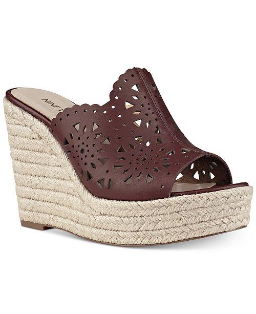 f479c0cb6b9 Nine West Derek Espadrille Platform Wedge Sandals   Reviews ...