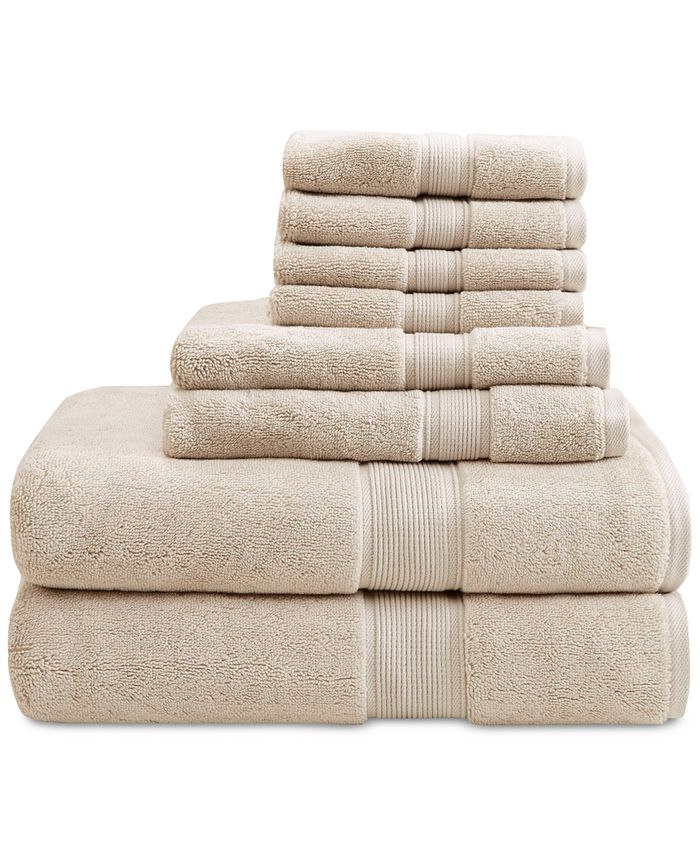 Madison Park - Signature Solid 8-Pc. Towel Set